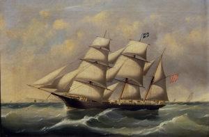 German Barque Malvina 1860