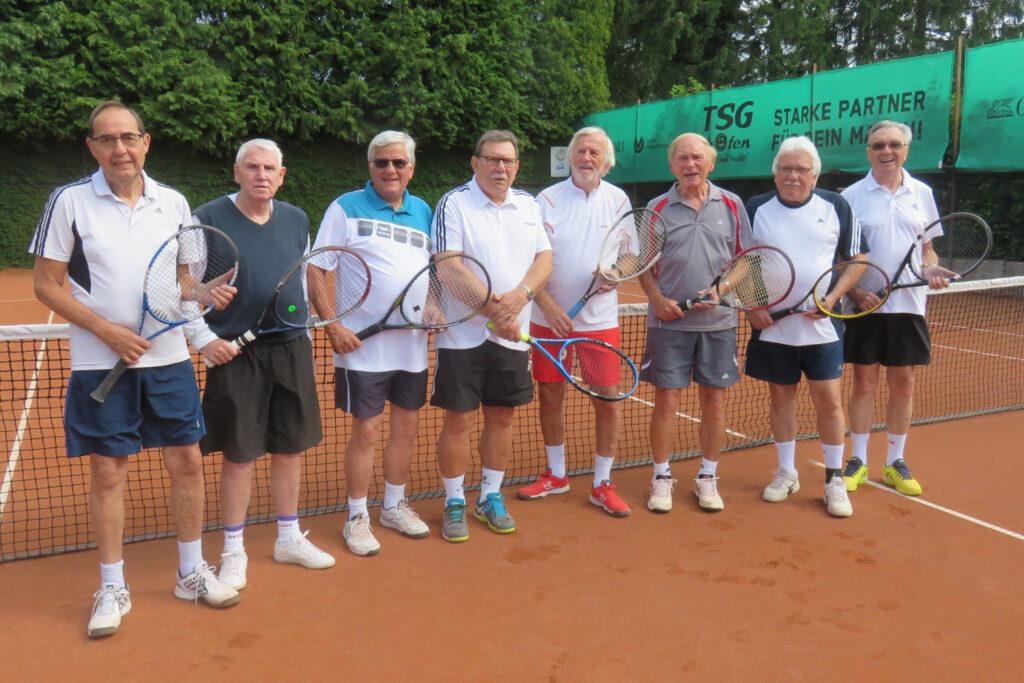 Herrenmannschaft Ü65 der TSG Westhofen