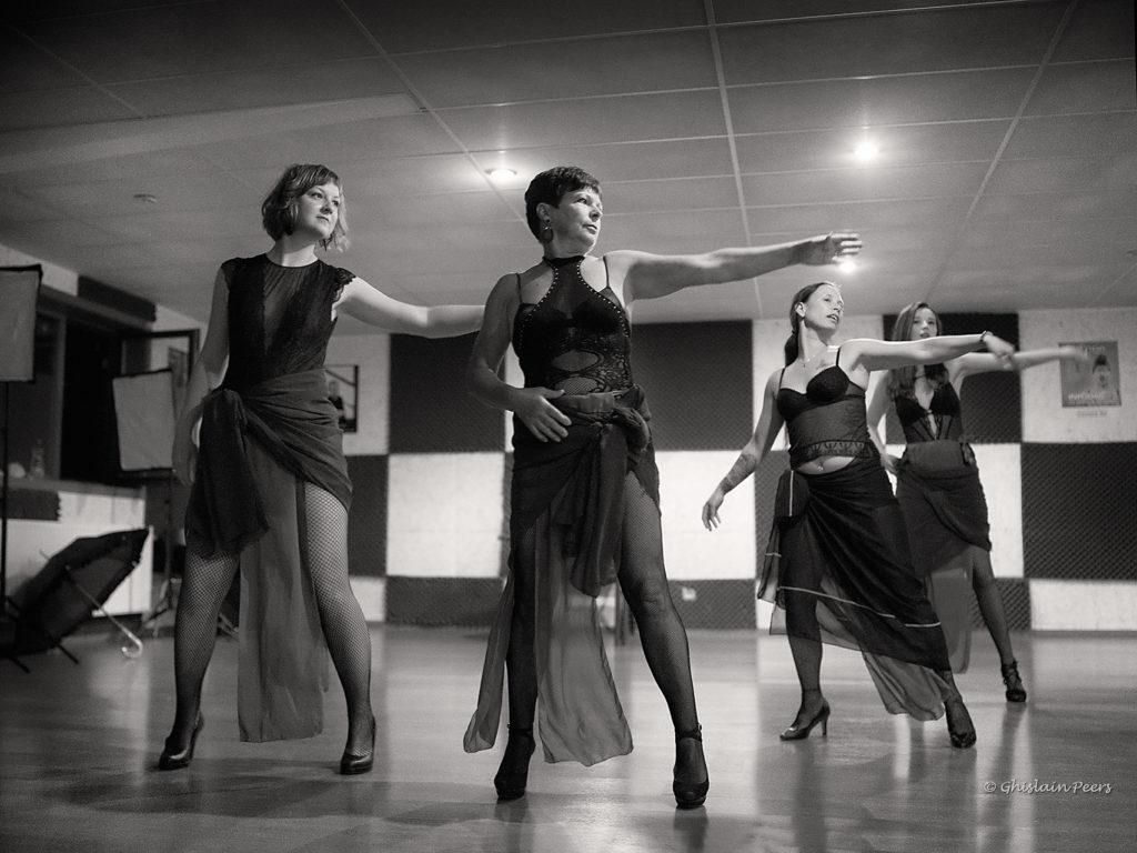 burlesque danseressen