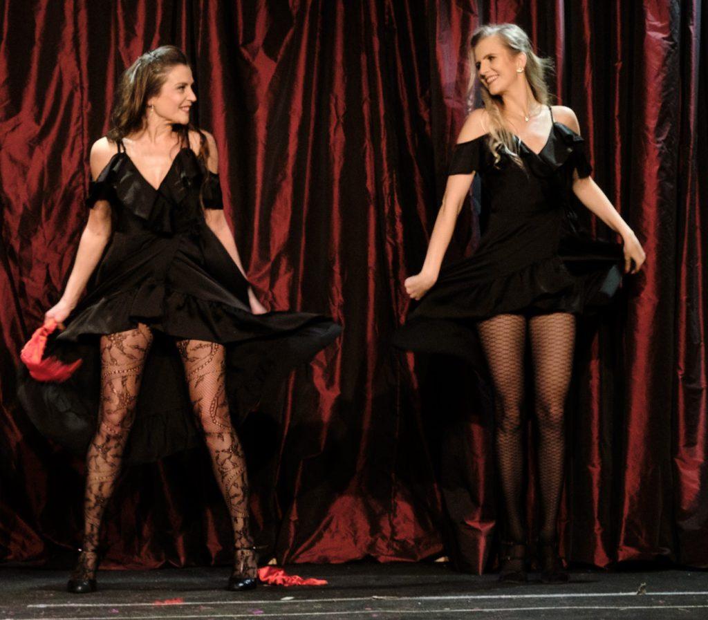 Foto van burleque show
