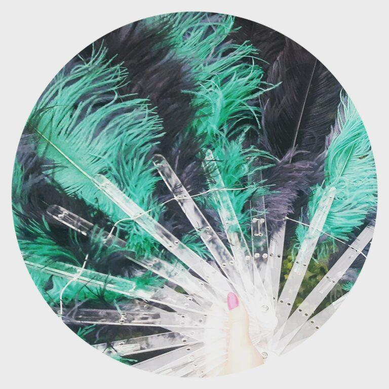 featherfan dance