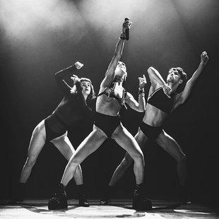 Groepsfoto van onze dansers