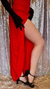 burlesque benen