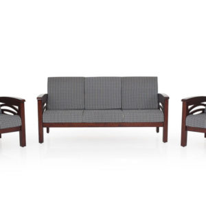 Emerald Wooden Sofa - 3-1-1 Set