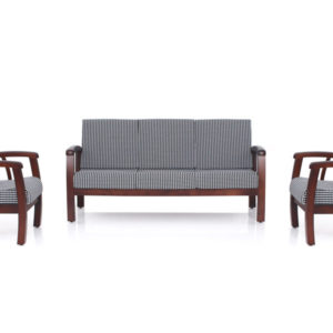 Jasper Wooden Sofa - 3-1-1 Set