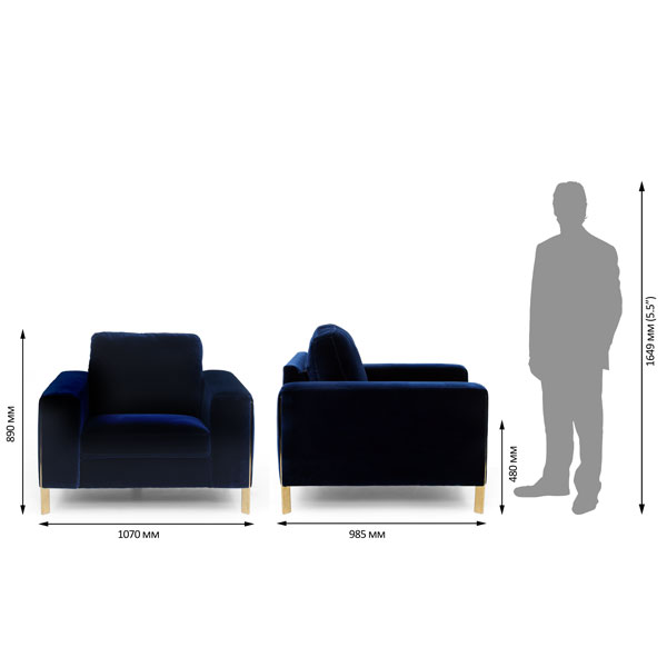 Porto Velvet Sofa Set