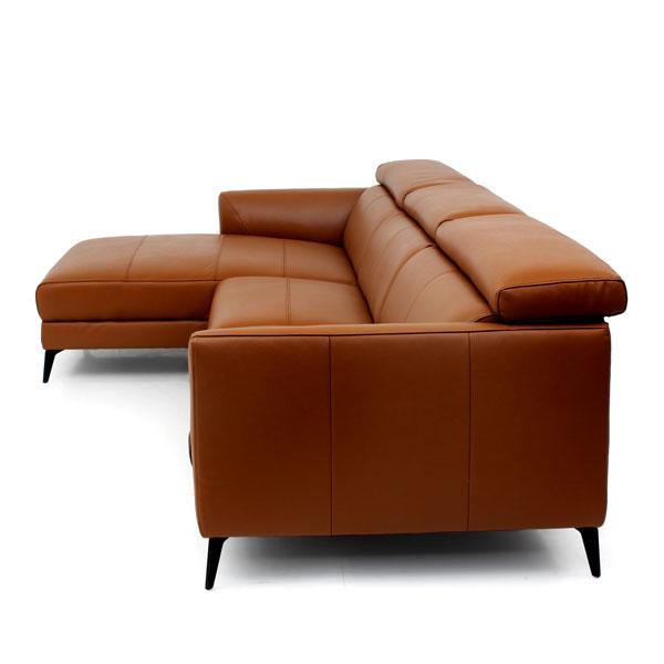 Anton Leather Sofa