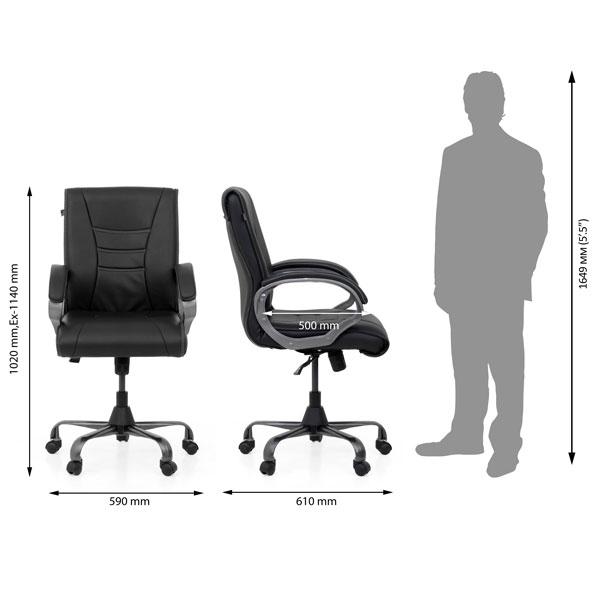 Manila Office Executive Chair