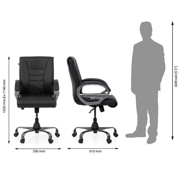 Manila Office Executive Chair