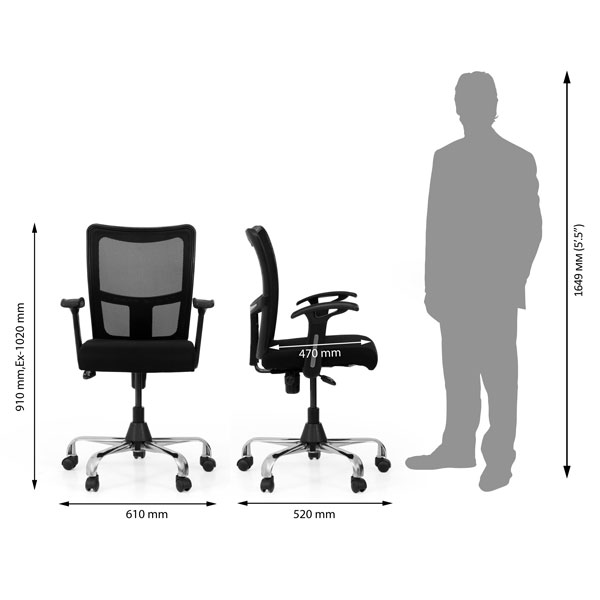 Alaminos Office Executive Chair (R.C)