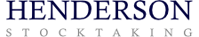 Henderson Stocktaking logo