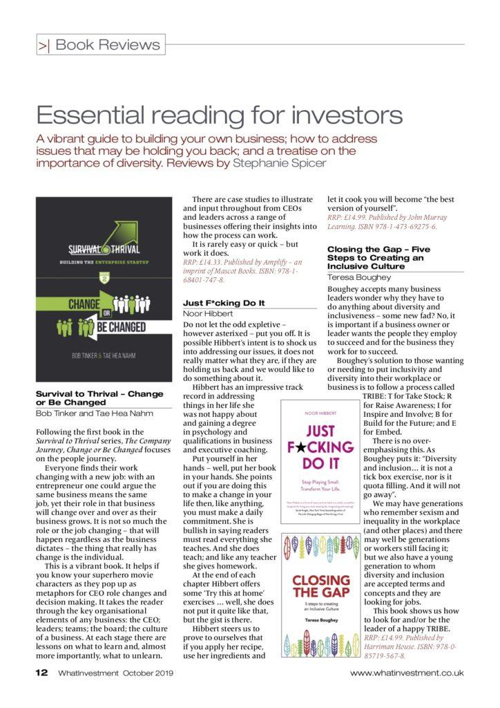 Essential reading for investors
