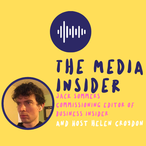 The Media Insider with Jack Sommers Podcast Cover.