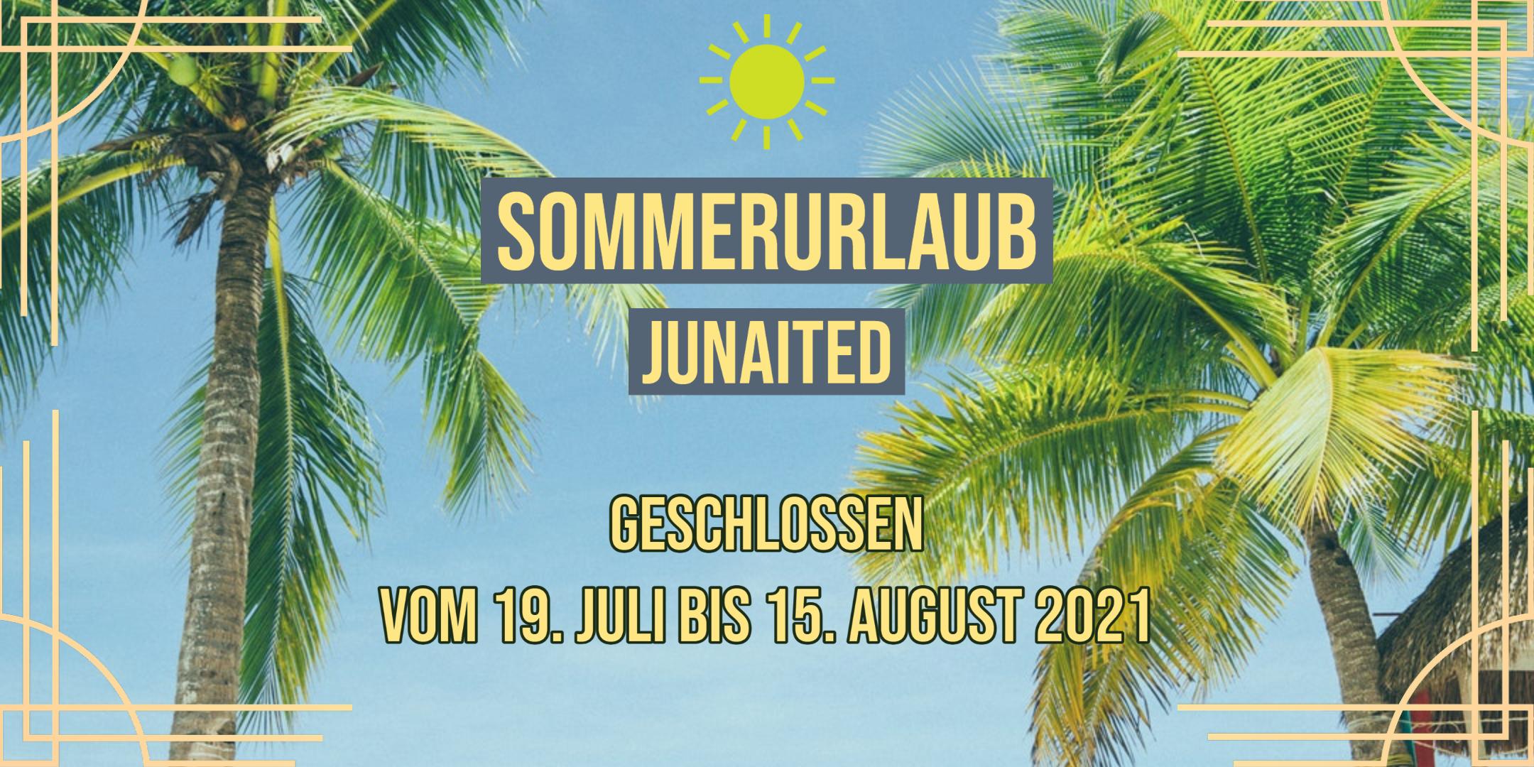 Sommerurlaub 2021 breit