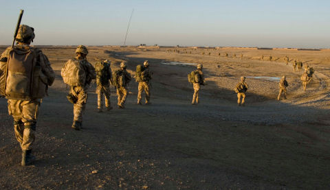 British Armed Forces in Helmand Province, Afghanistan