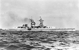 Admiral Scheer at sea