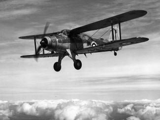 Fairey Albacore torpedo bomber