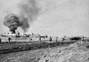 US forces landing at Anzio