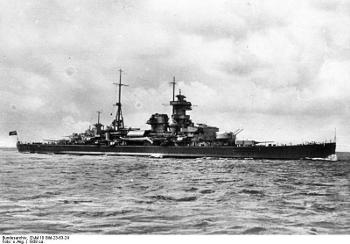Admiral Hipper class cruiser