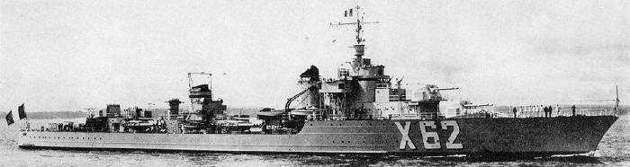 Japanese Mogador class cruiser