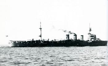 Imperial Japanese Navy ship Natori in 1922