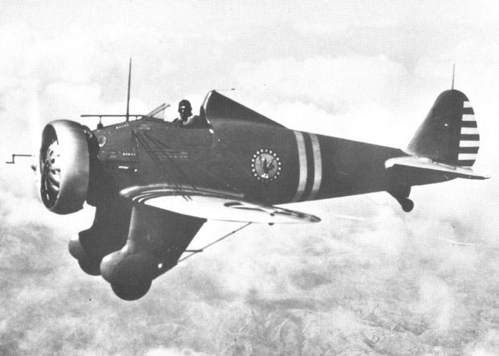 A Peashooter in flight