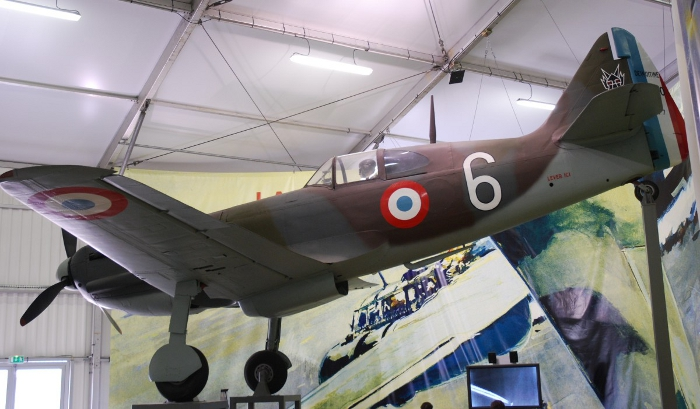 A prototype of the Dewoitine D.520 preserved at the Musée de l'Air et de l'Espace