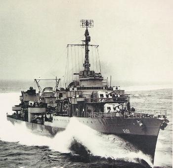 French destroyer Le Fantasque (Croiseur léger) in 1943