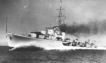 HMS Kelly - had a 'knack' for finding naval hotspots
