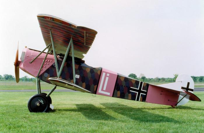 A Fokker D VII fighter
