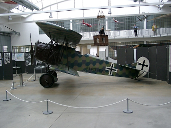 A Fokker D VII preserved in a German museum