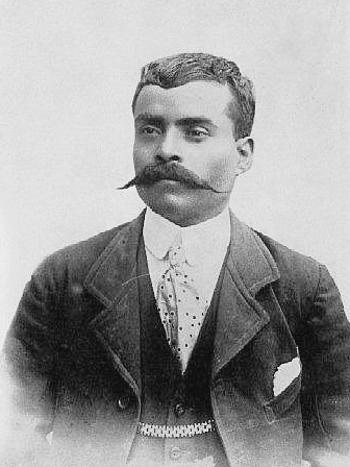 Mexican leader Emiliano Zapata