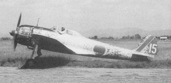 Nakajima Ki-43 IIa fighter