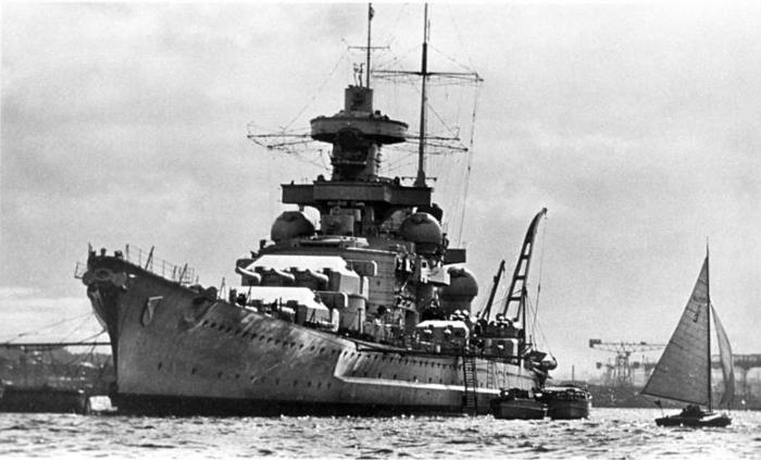 German battleship Scharnhorst