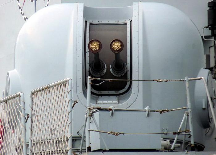 The Breda Dardo 40mm naval gun system