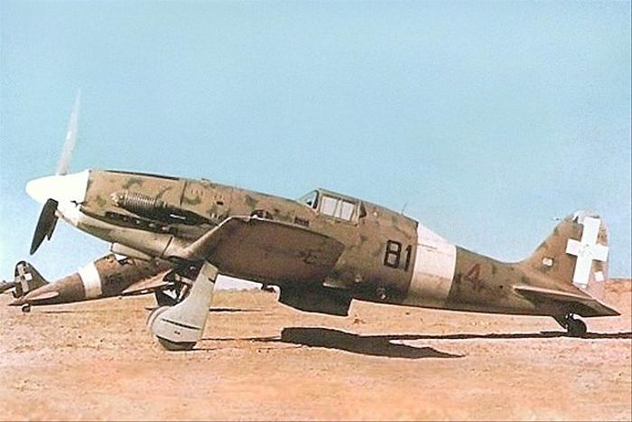 An early Macchi C.202 of 81ª Squadriglia, 6° Gruppo