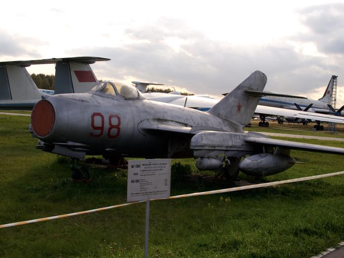 MiG-15bis at Monino Aircraft Museum