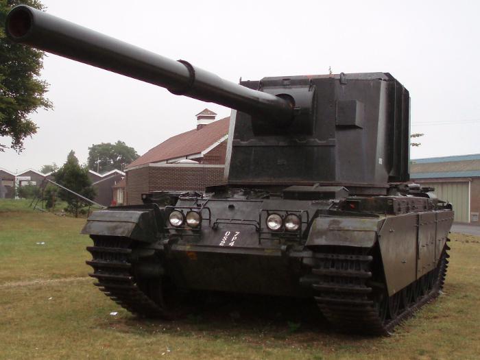 FV4005 at the Bovington Tank Museum