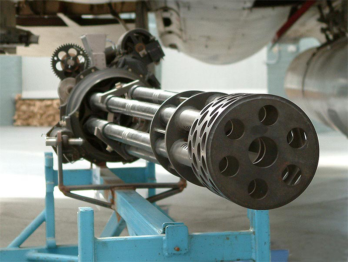 The M61 Vulcan cannon