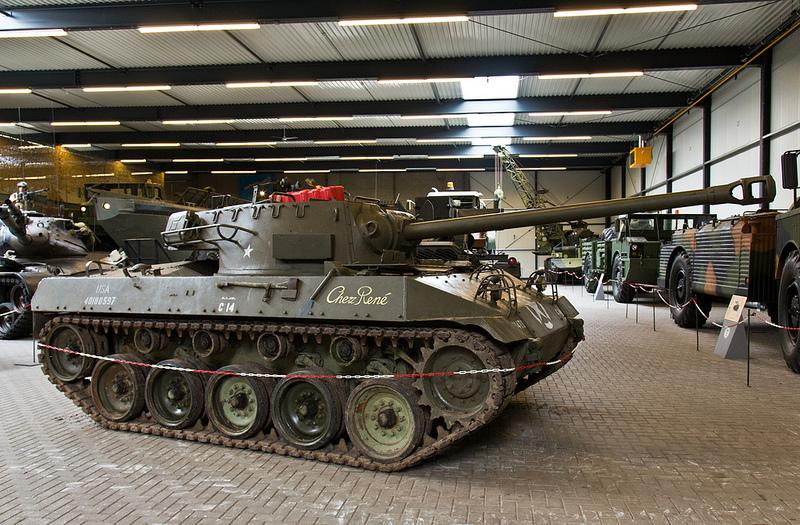 M18 Hellcat at Liberty Park War Museum, Overloon, Holland