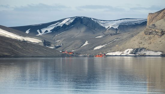 A view of Deception Island