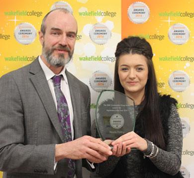 Apprenticeships Award - Wakefield College