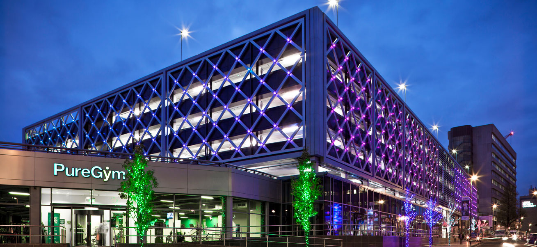Merrion Centre Car Park - Leeds