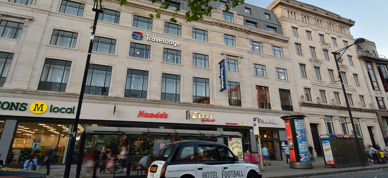 Travelodge, Piccadilly Gardens, Manchester