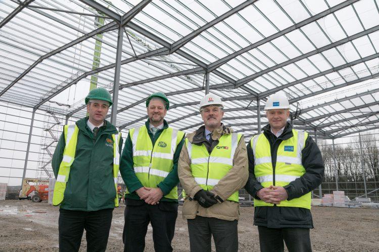 Burnley Bridge distribution hub hits milestone
