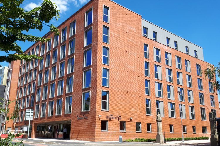 Work completes on city centre student accommodation scheme