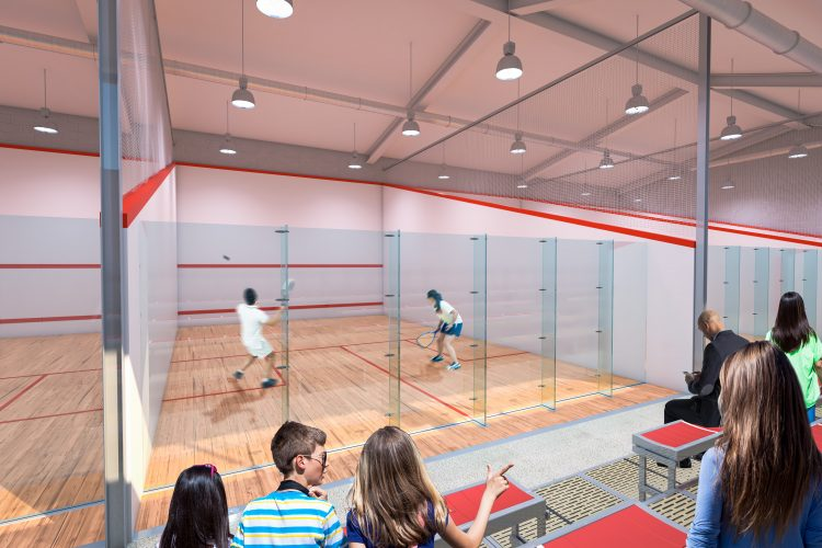 Works to Scarborough Squash & Racquets Academy Reach Completion