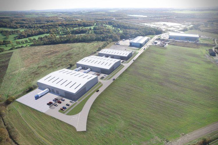Work starts on speculative 100,000 sq ft warehouse scheme