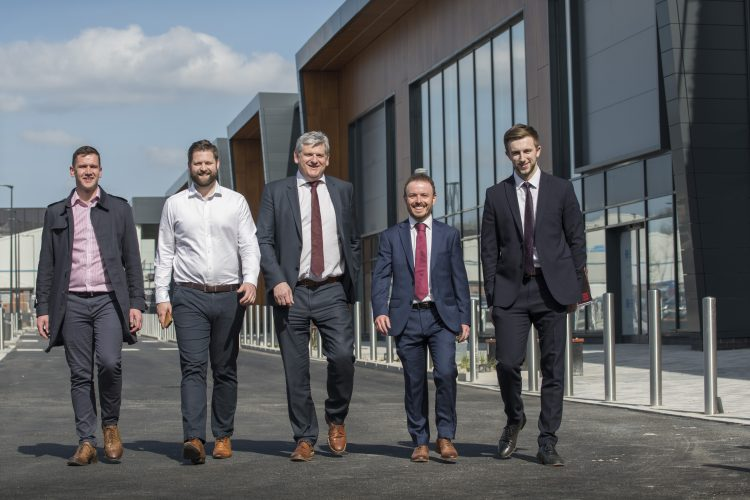 Building works completed at new £35m retail park in Sheffield