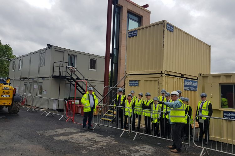GMI and Muse support local school's construction learning initiative at Stockport Exchange